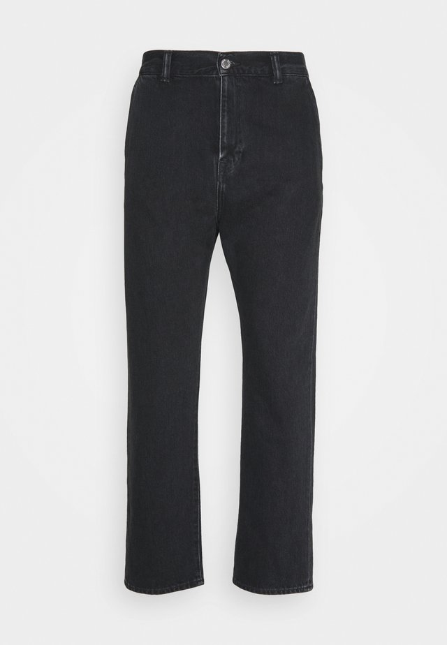 UNIVERSE PANT CROPPED - Jeans a sigaretta - mid stone kingston black