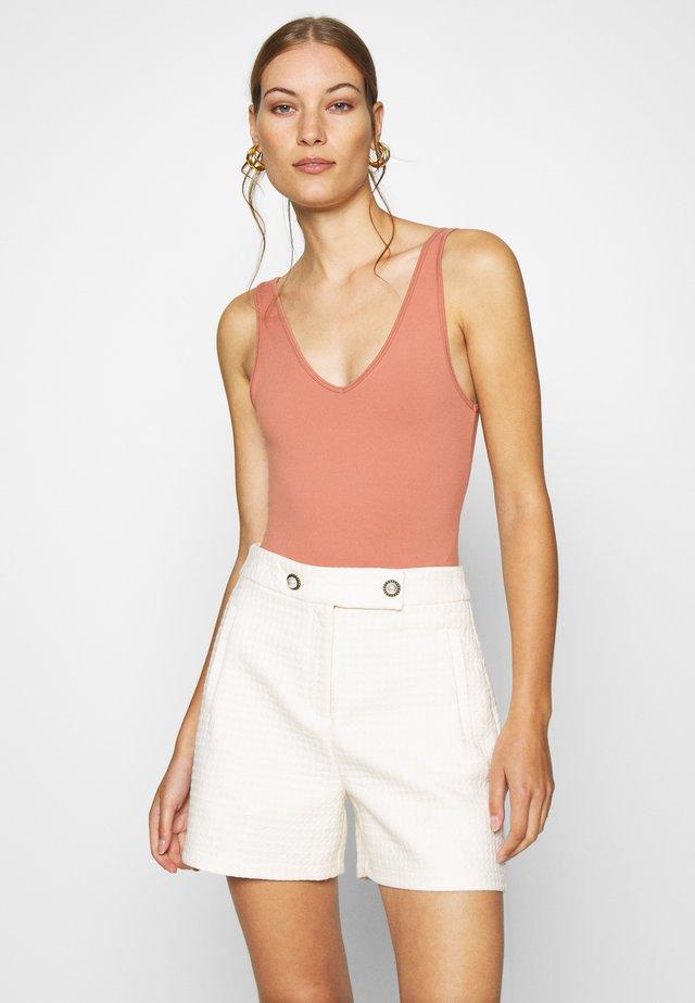 BARE SEAMLESS BODYSUIT - Top - pink
