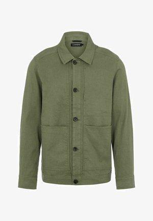 ERIC - Summer jacket - mottled light green
