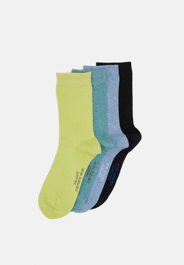SOFT SOCKS 4 PACK - Socks - limeade