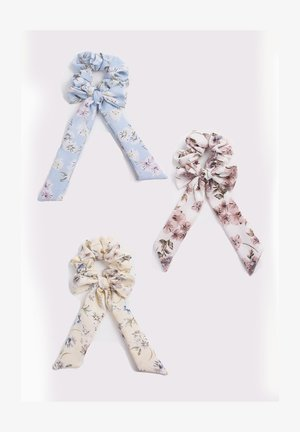 3 PACK - Hair Styling Accessory - blue/cream/red