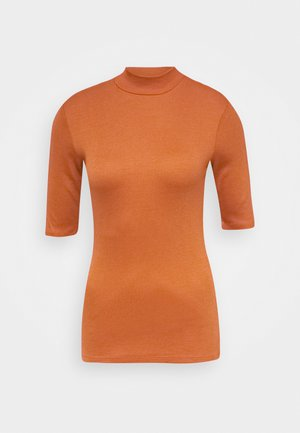 KROWN - Basic T-shirt - mocha bisque