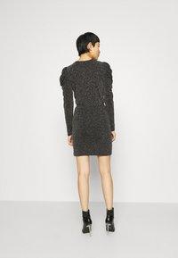 Second Female - CRAWFORD DRESS - Koktejlové šaty/ šaty na párty - black - 2
