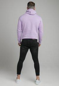 SIKSILK - CORE OVERHEAD HOODIE - Sweater - lilac - 2