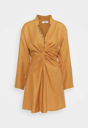 Denní šaty - curry