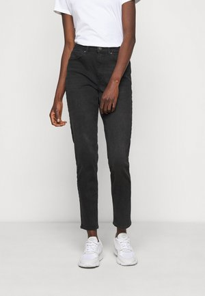 ONLVENEDA LIFE MOM - Slim fit jeans - black