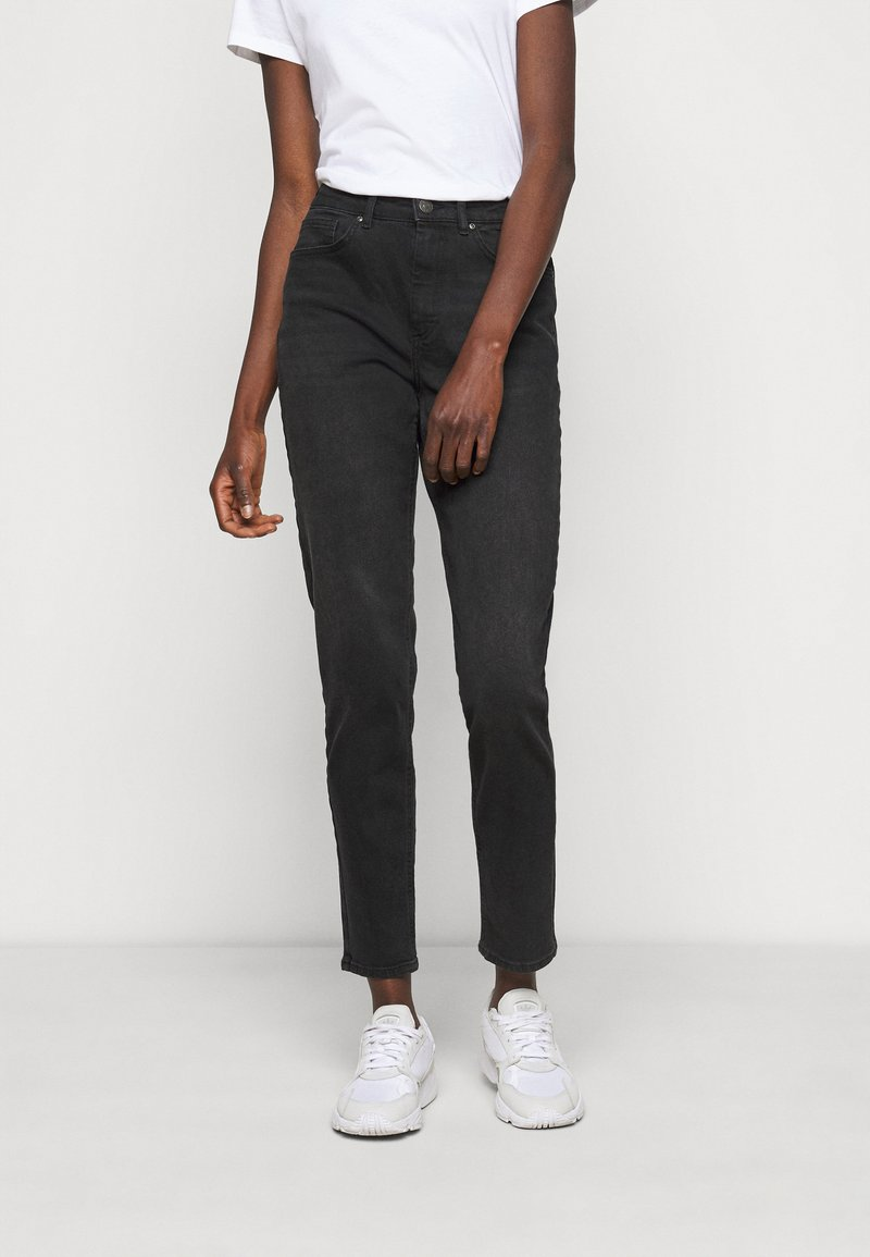 ONLY Tall - ONLVENEDA LIFE MOM - Slim fit jeans - black