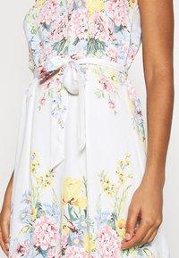 ONLY - ONLALMA LIFE LONG DRESS - Maxi dress - cloud dancer/summer botanic - 5