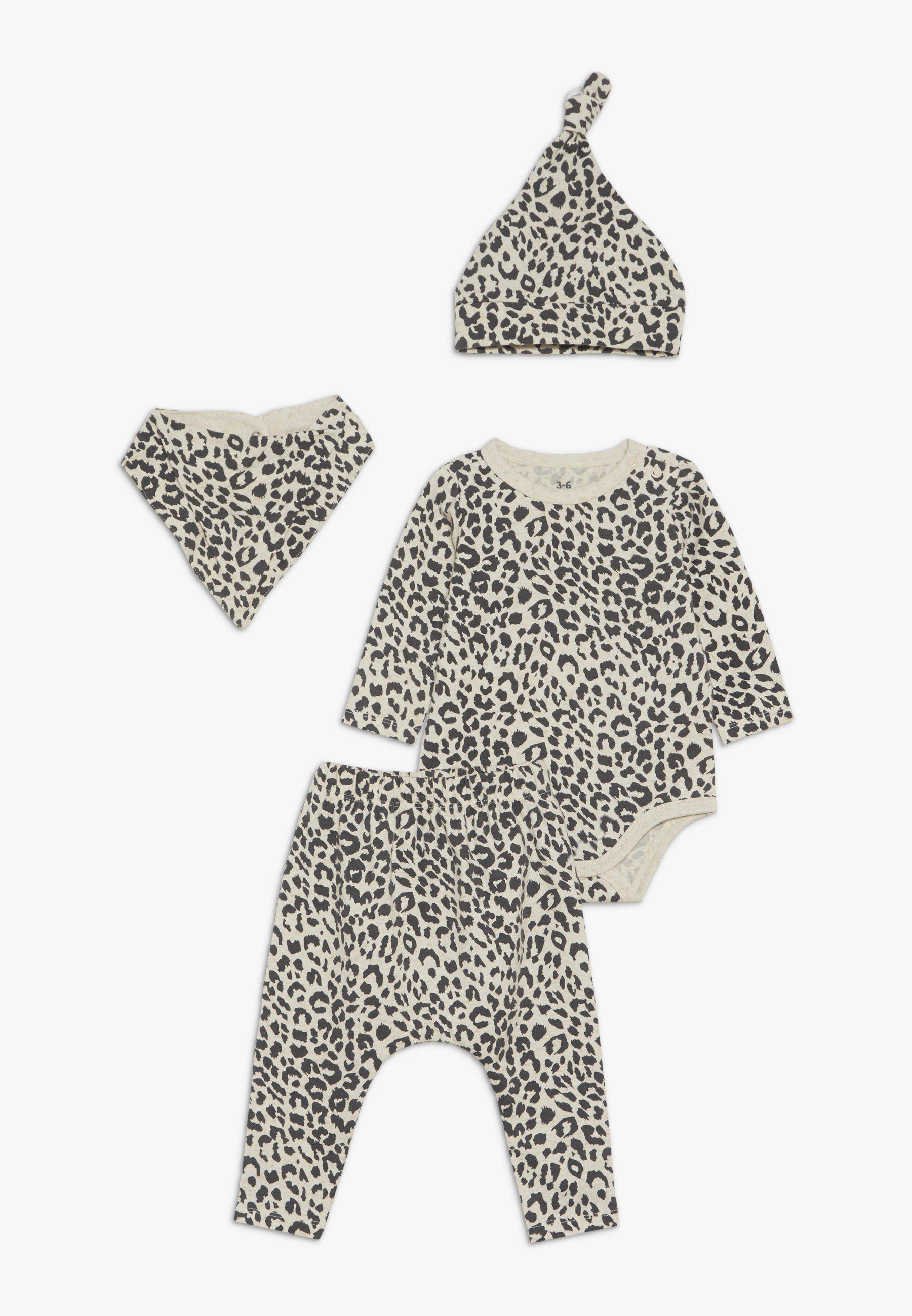 Gran venta Cotton On GIFT BABY MOMOUTH SET - Pañuelo - caramel marle/summer oscelot | Ropa para niños 2020 3IW8H