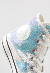 Converse - CHUCK TAYLOR ALL STAR - Sneaker high - silver/vintage white/black - 2