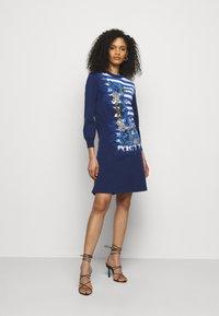Alberta Ferretti - DRESS - Pletené šaty - blue - 1
