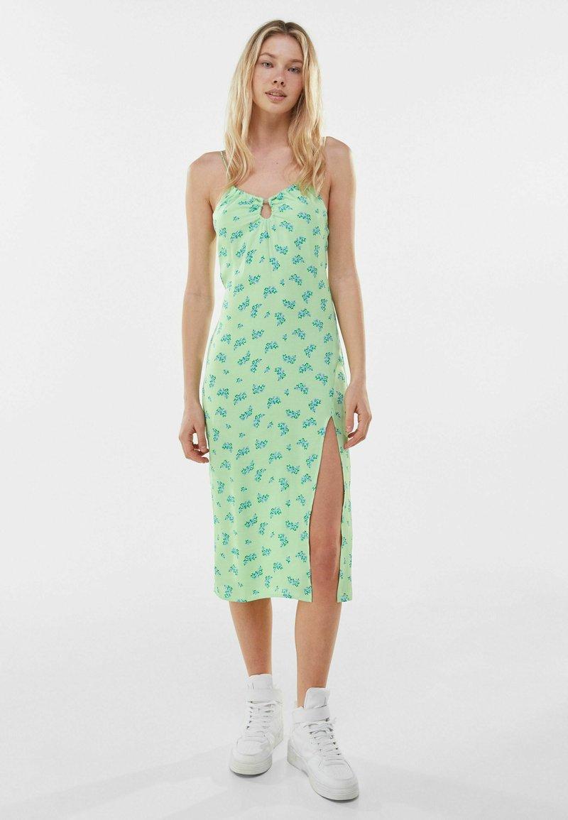 Bershka - Day dress - green