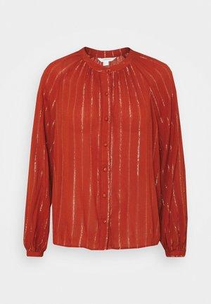BLUSA BAMBULLA - Button-down blouse - red