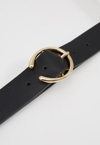 Pieces - PCOFELIA JEANS BELT - Ceinture - black/gold - 4