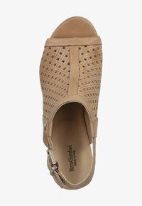 NeroGiardini - Ankle cuff sandals - champagne 439 - 1