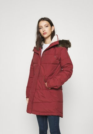 ELLIE - Winter coat - oxblood red