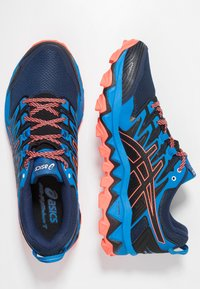 ASICS - GEL-FUJITRABUCO 7 - Chaussures de running - blue expanse/electric blue - 1