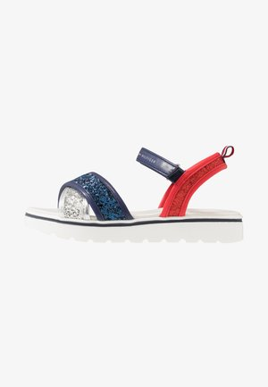 Sandály - silver/blue/red