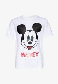 GAP - BOY FLIP - T-shirt print - white - 0