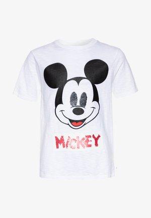 BOY FLIP - T-shirt z nadrukiem - white