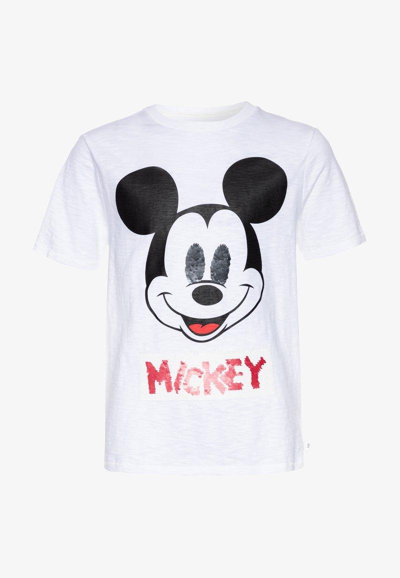 GAP - BOY FLIP - T-shirt print - white