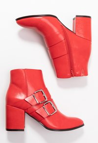 Even&Odd - Ankle boots - red - 3