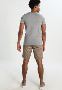 Jack & Jones - BASIC V-NECK  - T-shirt - bas - grey - 2