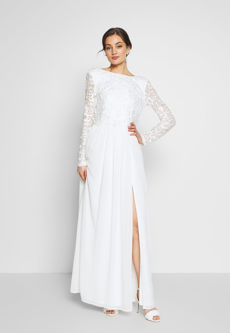 Nly by Nelly - TRIM GOWN - Iltapuku - white