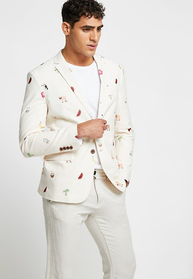 SUMMER ICONS - Blazer jacket - off white