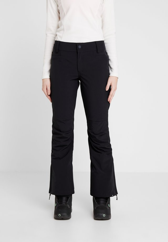 CREEK  - Pantalón de nieve - true black