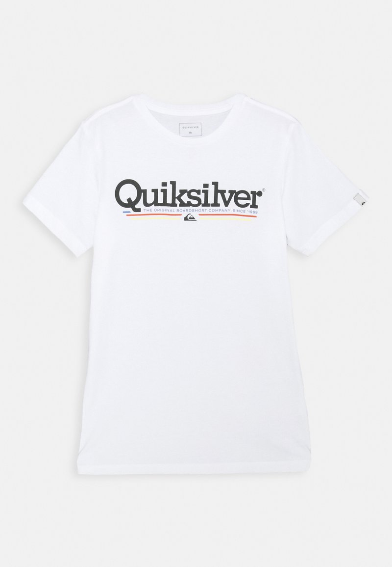 Quiksilver - SCREEN TEE - Print T-shirt - white