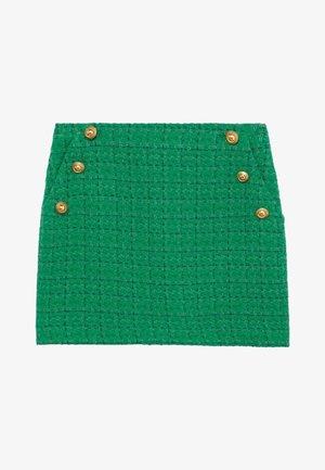 WINTOUR - Áčková sukně - groen