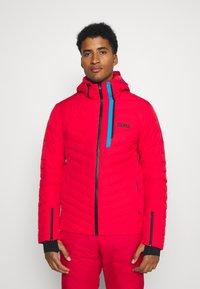 Colmar - Veste de ski - bright red/peacock/black - 0