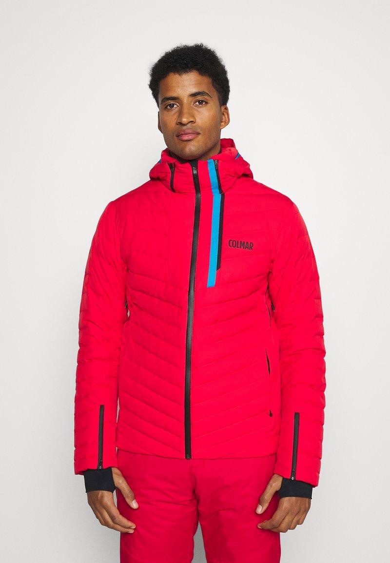 Colmar - Veste de ski - bright red/peacock/black
