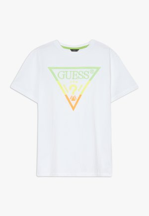 JUNIOR - Camiseta estampada - blanc pur