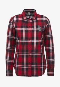 Lauren Ralph Lauren - CLASSIC CREST - Camisa - red/black - 4