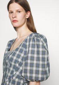 Alexa Chung - CORSET DRESS - Cocktailkleid/festliches Kleid - green/ pale blue - 5