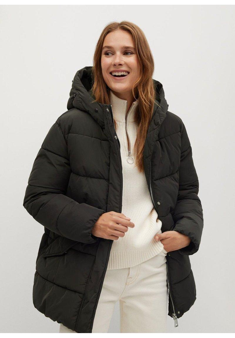 Mango - VIKINGA - Winter coat - dunkelgrau meliert