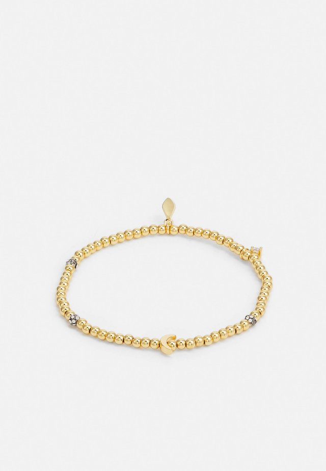 STRETCH BRACELET CRESENT MOON - Armband - gold-coloured