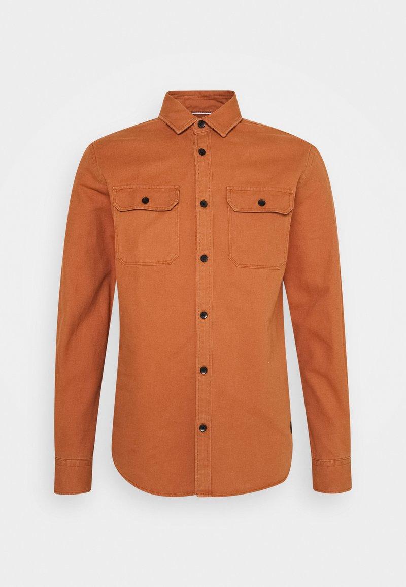 Jack & Jones - JCOCORNWALL WORKER - Košile - amber brown