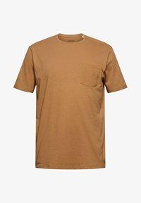 Esprit - Basic T-shirt - camel - 8