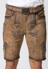 Stockerpoint - Leather trousers - brown - 4