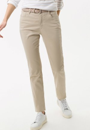 STYLE MARY - Trousers - beige