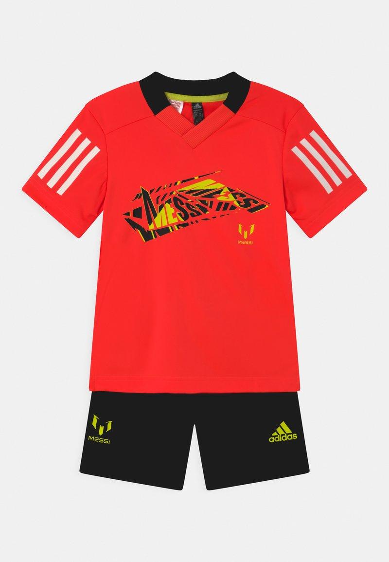 adidas Performance - SET UNISEX - Sportovní kraťasy - red/black