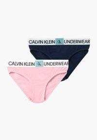 Calvin Klein Underwear - 2 PACK - Kalhotky - pink - 0