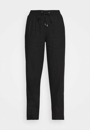 TAPERED - Kalhoty - black