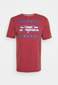 Fox Racing - BRAKE FREE TECH TEE  - T-Shirt print - chili - 0