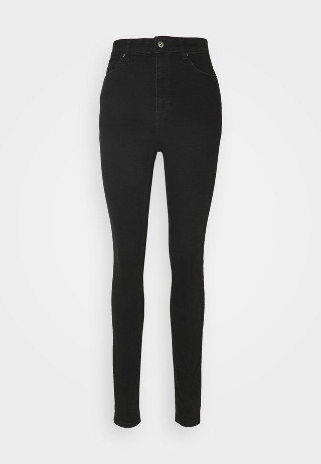 Skinny džíny - black dark wash