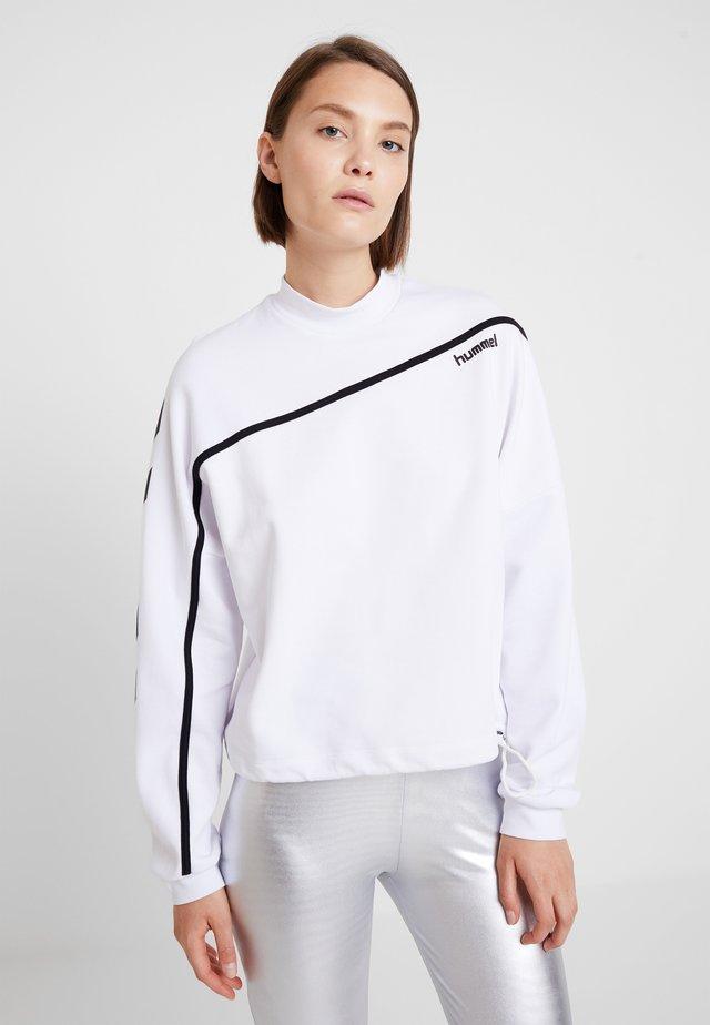 CRISSY - Sweatshirt - white