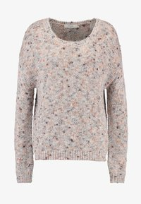 Cream - DICTE OVERSIZE JUMPER - Jumper - soft camel - 3